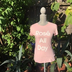 Wildfox rose all day shirt